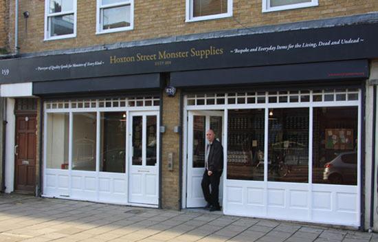 Магазин «Монстроснаб» в Лондоне продаёт товары для монстров