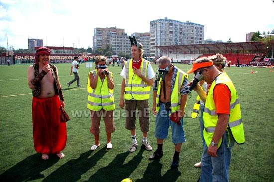 Бинокулярный футбол