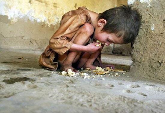 1 житель Земли из 6 живёт в нищете и голодает
