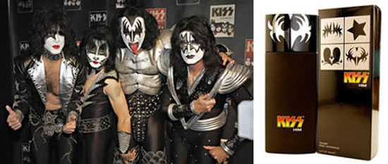 Аромат музыкантов группы KISS, отыгравших 3-х часовой концерт