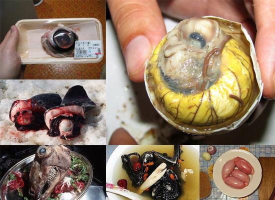 10 фактов о самых мерзких деликатесах в мире