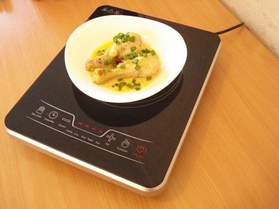 Фактрум на кухне или 5 фактов об индукционной плитке Kitfort