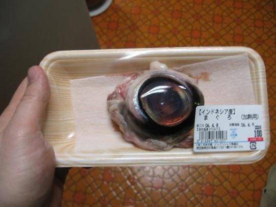 Глаз тунца