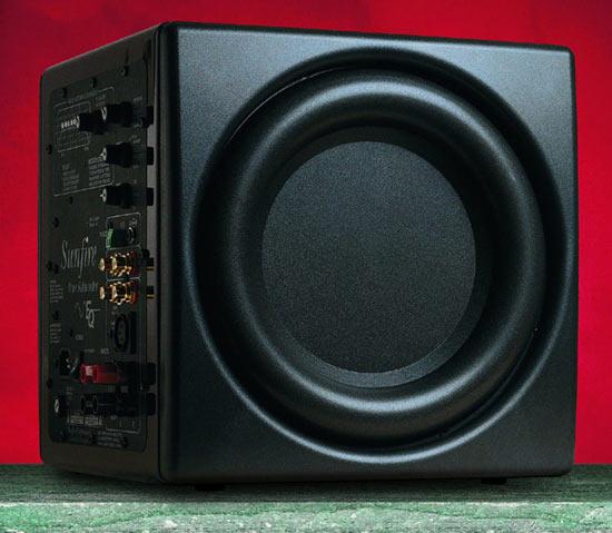 В любых аудиосистемах сабвуфер всегда один из-за особенности человеческого звуковосприятия