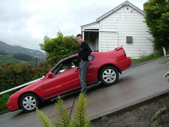 Самая крутая улица в мире находится в Новой Зеландии