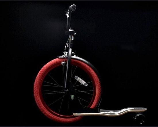 Sbyke — это гибрид самоката, скейта и велосипеда