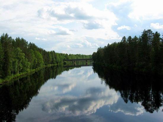 Существуют реки, которые могут менять направление течения