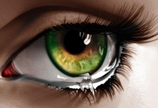 Слёзы улучшают настроение только 30% людей