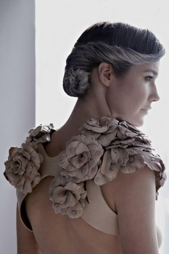 Дизайнер Рэйчел Фрейре создала линию женской одежды из 3000 сосков яка