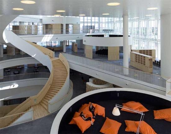 Школа по принципу open space