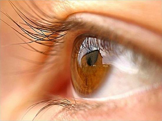 Диаметр глазного яблока у всех людей одинаков: 24 мм