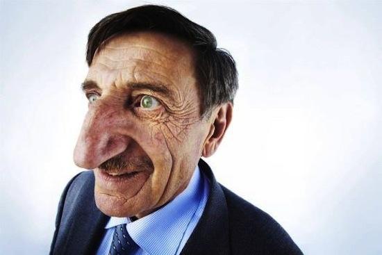 В течение дня ваш нос становится то больше, то меньше