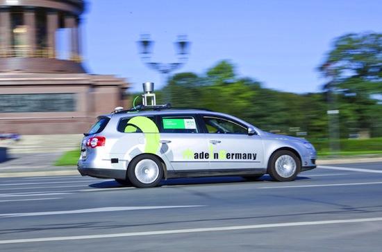 В Берлине создали беспилотный автомобиль, который может сам передвигаться по городу