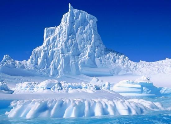 Ледяные башни Эребуса