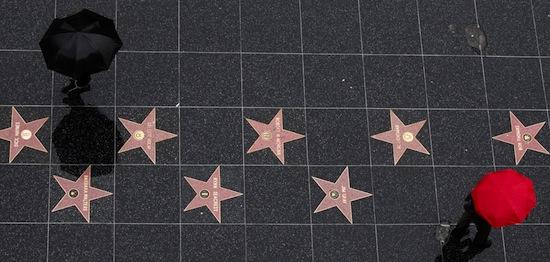 10 фактов о Голливудской аллее славы