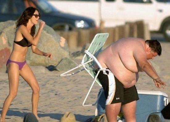 Чтобы компенсировать свой лишний вес, мужчина должен повысить свой доход