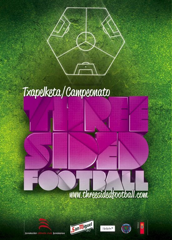 Существует трёхсторонний футбол