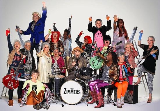 Участникам самой старой рок-группы в мире The Zimmers в сумме 3700 лет