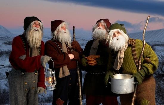 В Исландии вместо одного Деда Мороза — тринадцать «Рождественских пацанов»