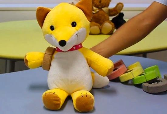 Японцы создали устройство для «оживления» плюшевых игрушек