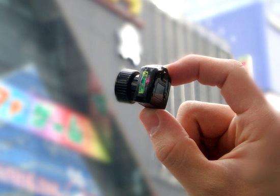 Фотокамера MAME-CAM — самая маленькая камера в мире