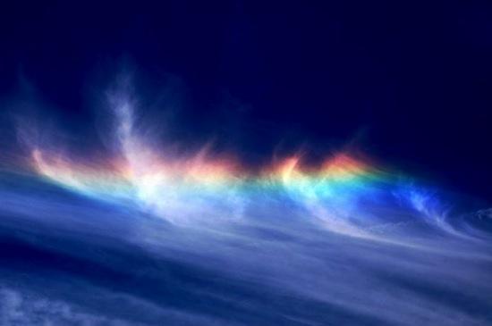Существует «огненная» радуга