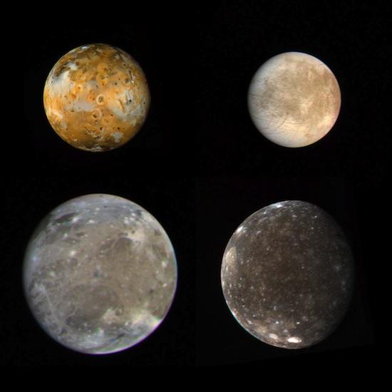 Галилеевские спутники Юпитера