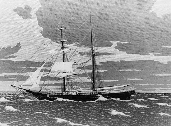 Корабль-призрак — это корабль, с которого по неизвестным причинам исчезли все люди