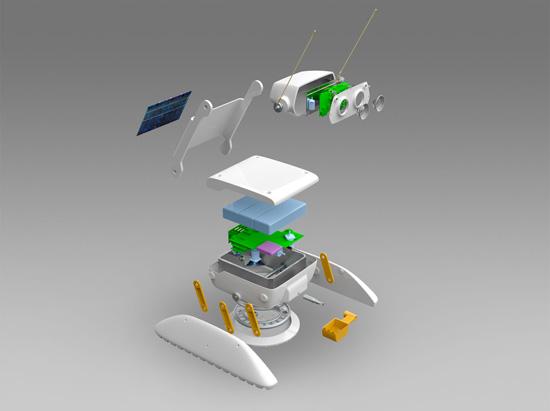 Резидент «Сколково» создаёт новый луноход — «Селеноход»