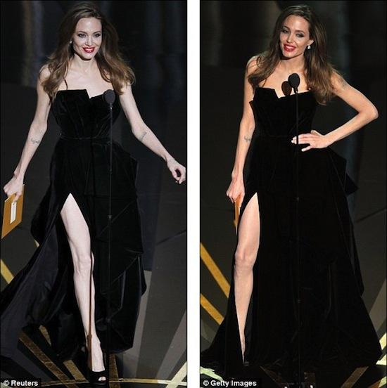 У правой ноги Анджелины Джоли есть собственный микроблог