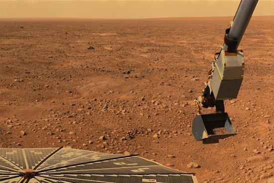 На Марсе есть водяной пар