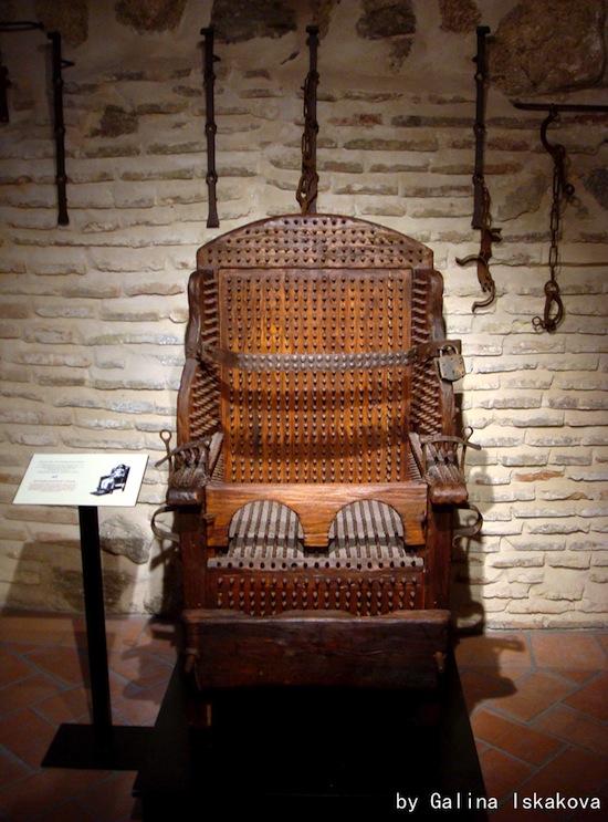 Кресло допроса