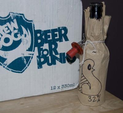 Существует пиво с 32-процентным содержанием алкоголя — «Тактический ядерный пингвин»