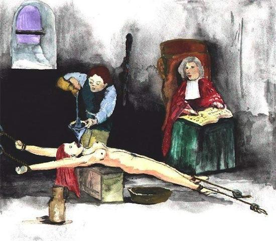 Видео как мужики привязали женщину для пыток фото 529-242