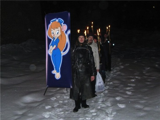 В России существует секта последователей Гаечки