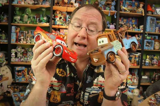 Джон Лассетер (John Lasseter), художник-аниматор.