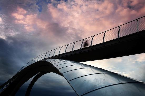 В Норвегии есть мост, построенный по проекту Леонардо Да Винчи