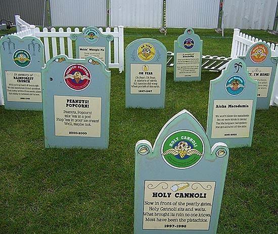 В США есть кладбище мороженого
