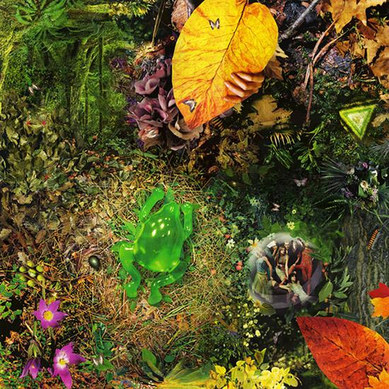 Художник Павел Шангин создает картины из журнальных вырезок