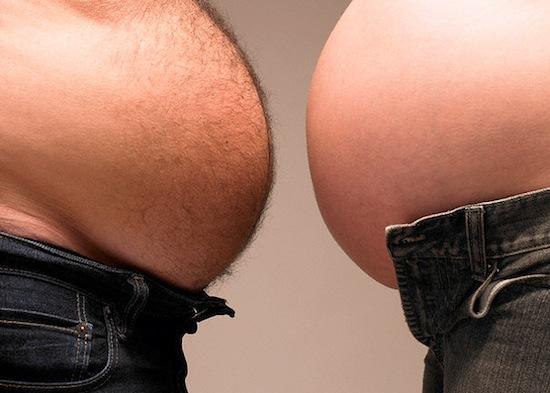 жир на животе у мужчины вред