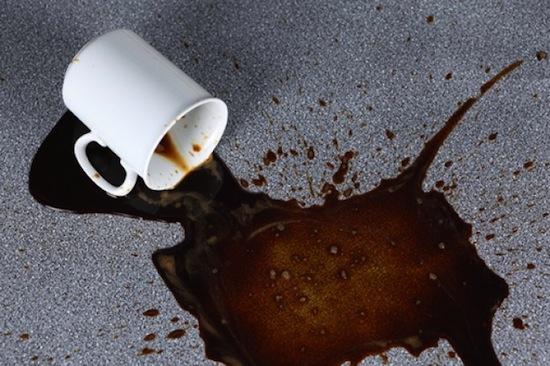 Если вы несёте кружку с кофе или чаем, то вероятнее всего, прольёте его между 7-м и 10-м шагом