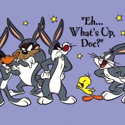 Gangster bugs bunny and daffy duck wallpaper