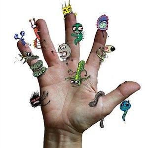 От 1% до 3% веса вашего тела — это вес живущих в вас микробов, грибков и других микроорганизмов