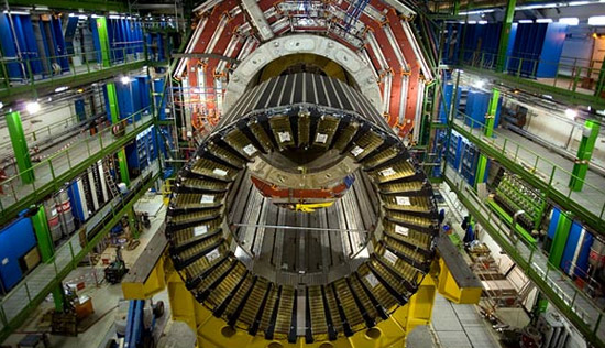 С помощью Большого адронного коллайдера учёным удалось найти бозон Хиггса