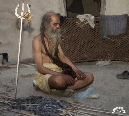 Самый вонючий человек в мире не моется уже 38 лет