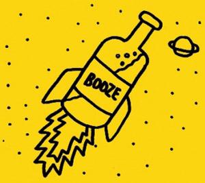 В космосе есть спирт