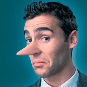 Мужчины лгут чаще, чем женщины