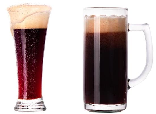 Из искривлённого бокала пиво выпивается быстрее, чем из прямого