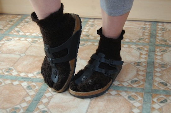 Древние римляне носили носки с сандалиями