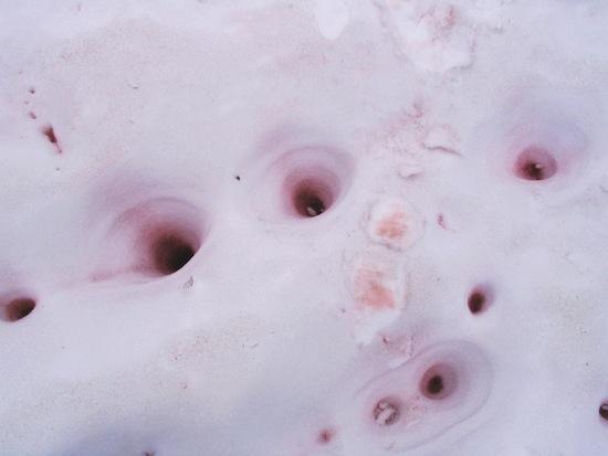 Существует снег с запахом арбуза